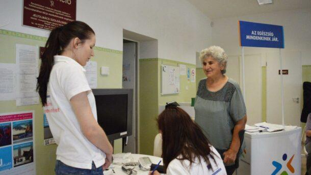 Az egészségügyi szűrések jegyében telik a hétvége Makón
