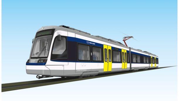 A Stadler Berlinben mutatta be a Vásárhely-Szeged közt majd futó tramtraint