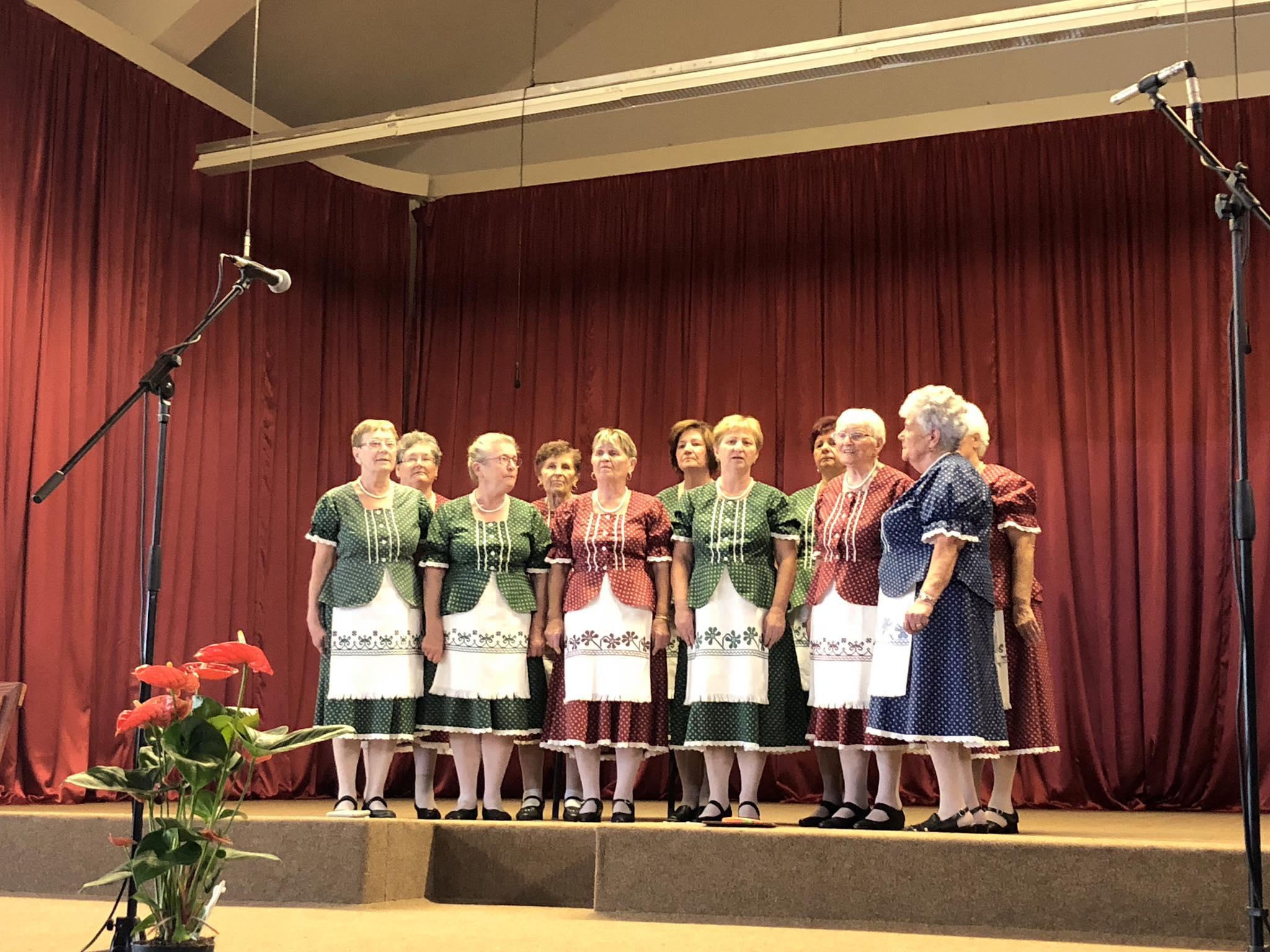 A magyar nótáé volt a délután Székkutason