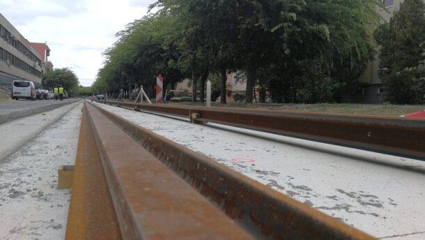 Így áll a tram-train építése Vásárhelyen