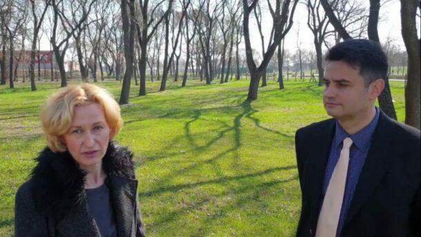 Gömöri Csilla és Márki-Zay Péter