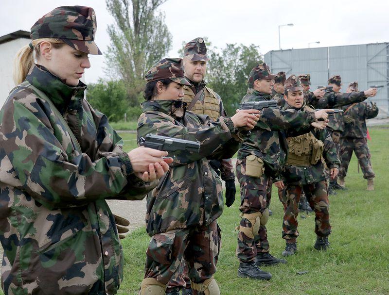 NATO-nap és katonai eskü Hódmezővásárhelyen 2