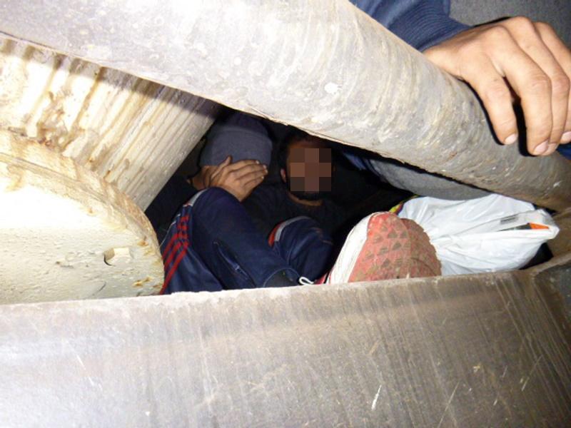 Tizenöt külföldit tartóztattak fel a határon 1