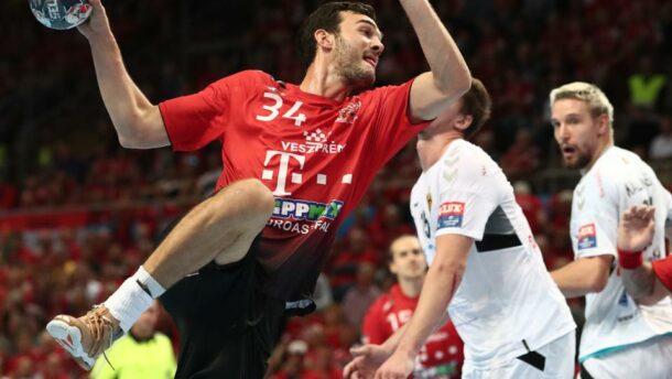 A Veszprém kilenc góllal legyőzte a címvédő Vardart
