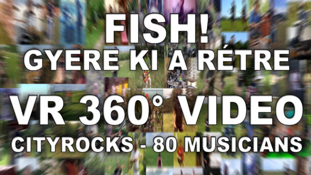 Különleges VR 360° videót készített a CityRocks