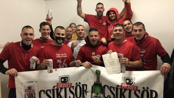 A Csíki Sör F.C. nyerte az Őszi Bajnokságot