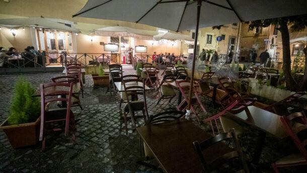 Rómában is kijárási tilalmat rendeltek el