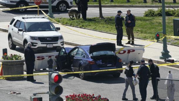 Lezárták a Capitolium környékét, miután egy autós elgázolt két rendőrt