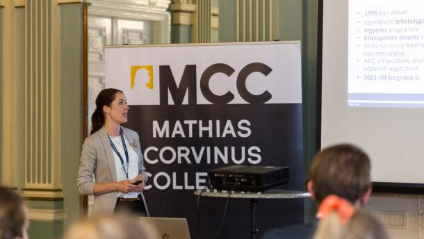 Középiskolás nyílt napot tartott a Mathias Corvinus Collegium Szegedi Központja